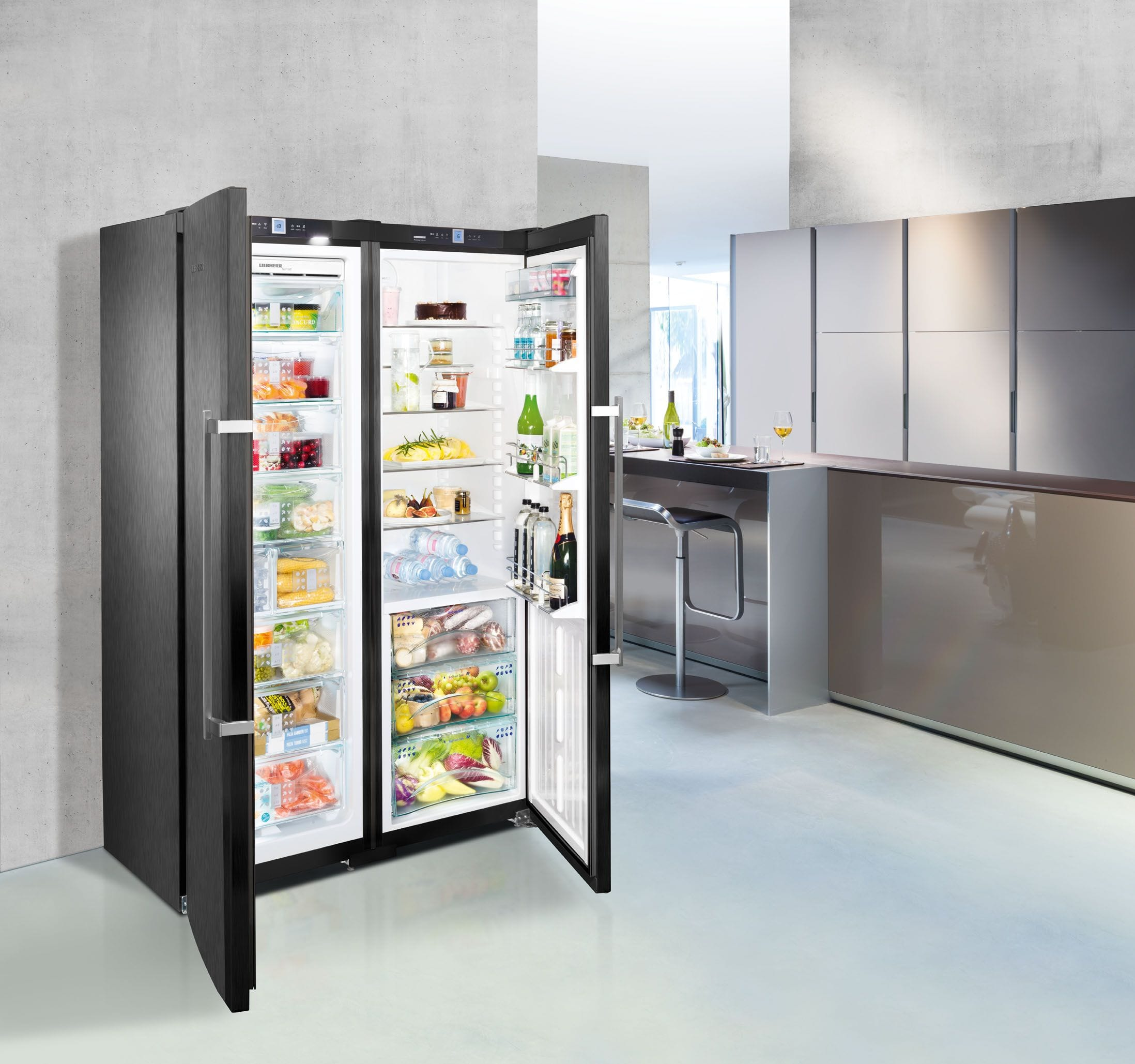 Is it worth investing in freezer cabinets, or is it better to limit to refrigerated cabinets 89