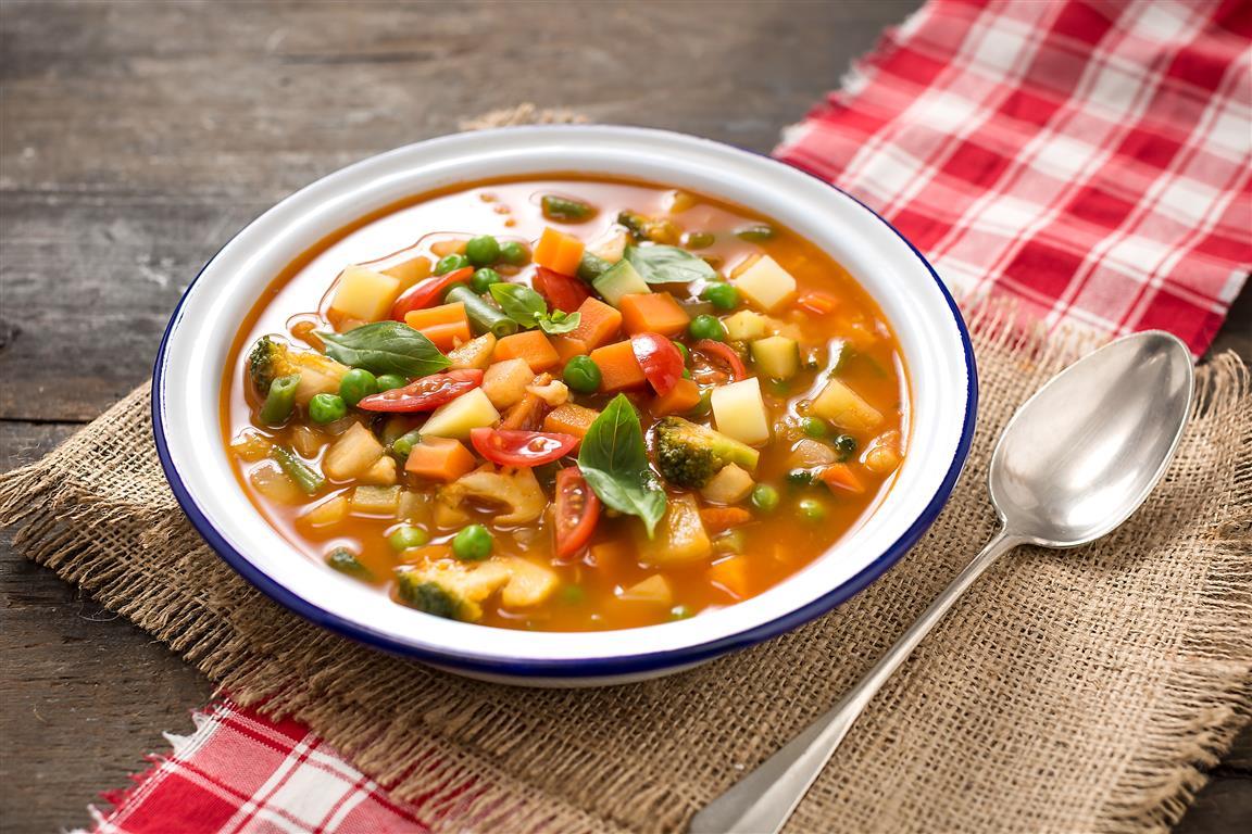 Minestrone Italian Vegetable Soup FreshMAG - Italian vegetable soup