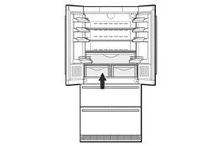 French door fridge-freezer