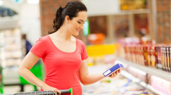 Supermarket Frozen Shopping-POST