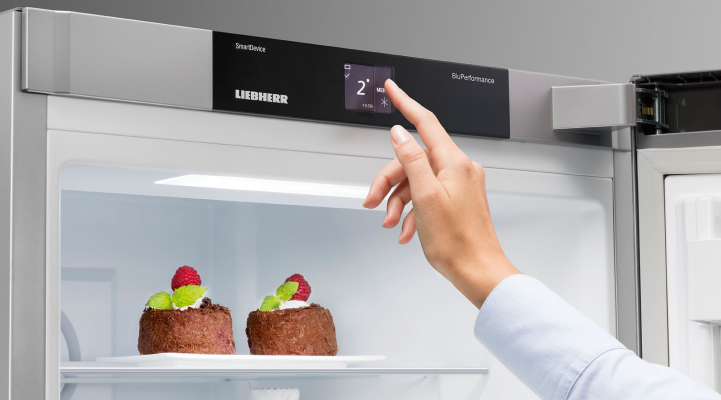 Liebherr Touch Electronics Control