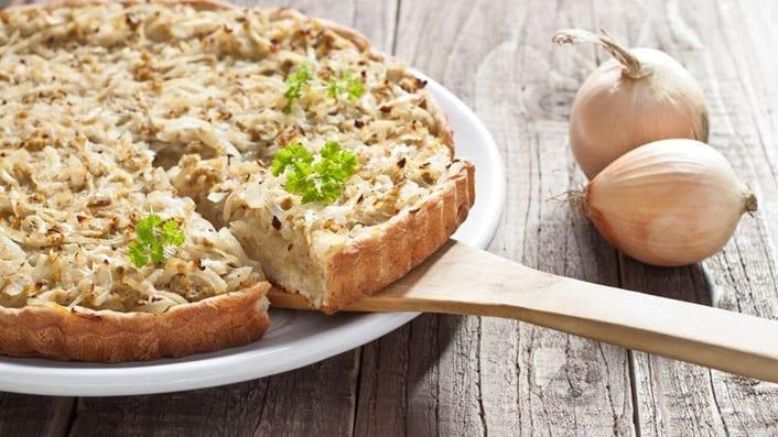 Image onion tart