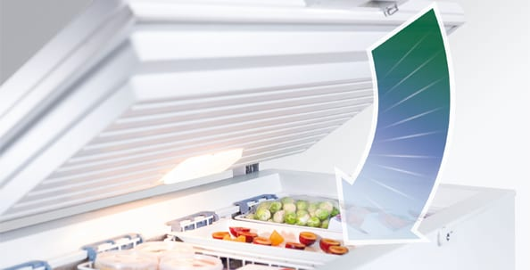 Automatic door closure, Built-in appliances, Energy efficiency, Refrigerator, Liebherr, Soft closing, Safety, SoftSystem, Freestanding appliances, Chest freezers
