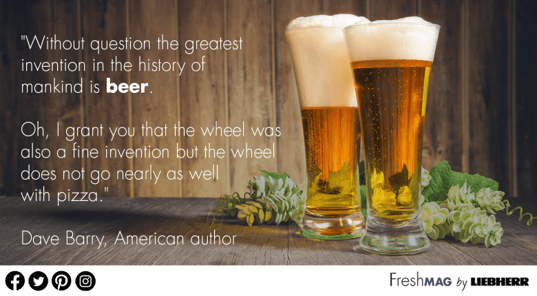 Beer is the greatest invention quote Dave Barry