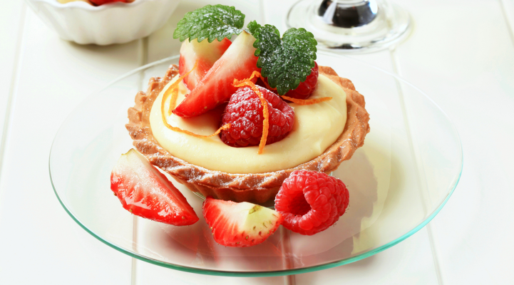English Custard Tart