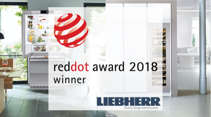 Red Dot Award 2018 Liebherr Appliances