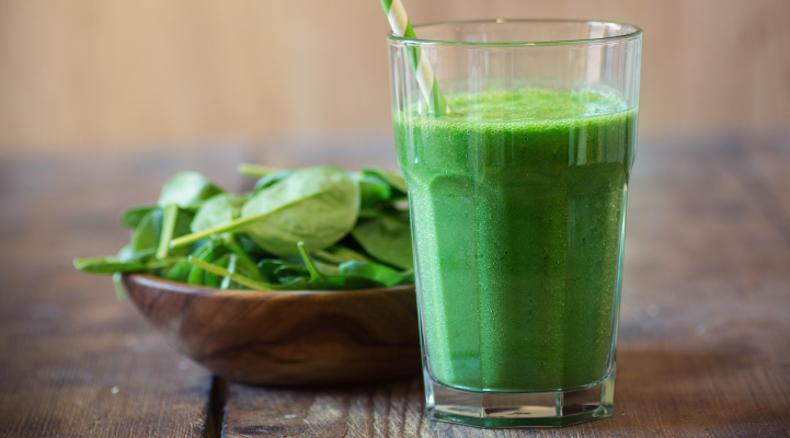 Kale and Kale Smoothie for eye health
