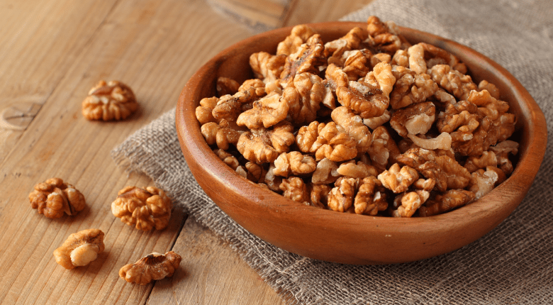 Walnuts are rich in omega-3