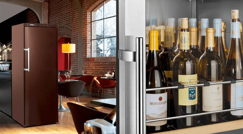 Wine storage restaurants