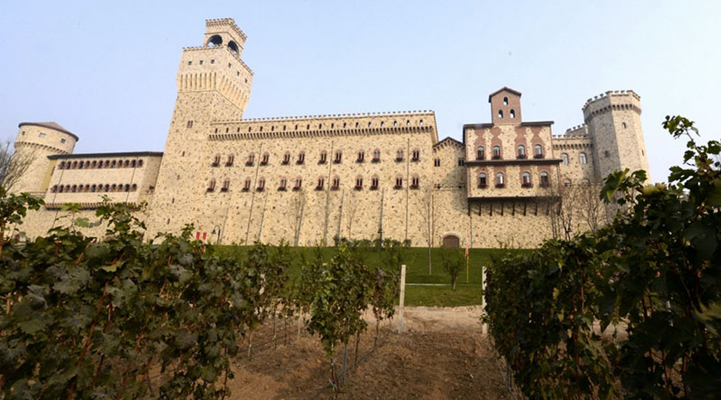 Chinese winery castle