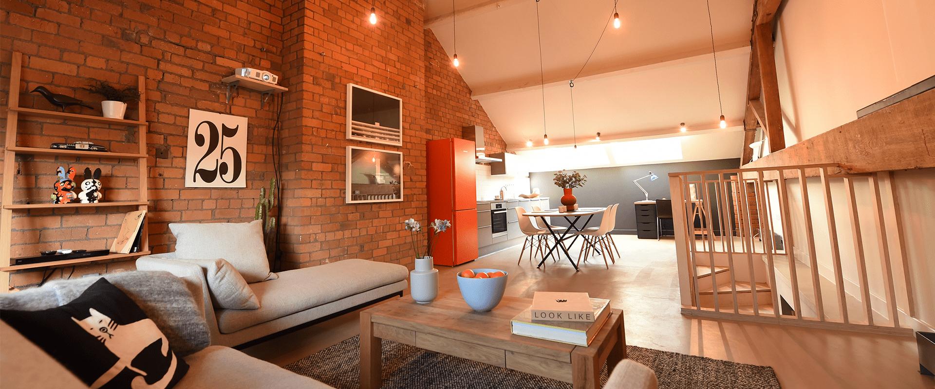 The Union Lofts development features Liebherr ColourLine range