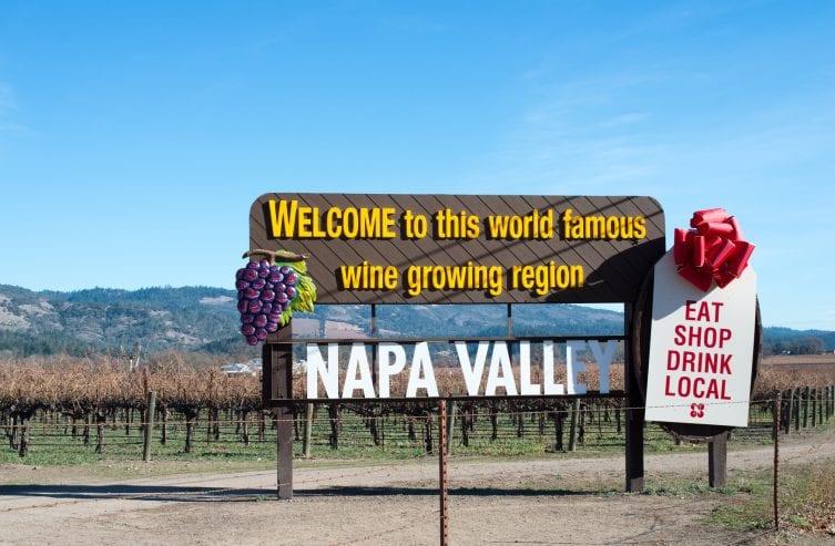 napa tal kalifornien tourismus von amerika