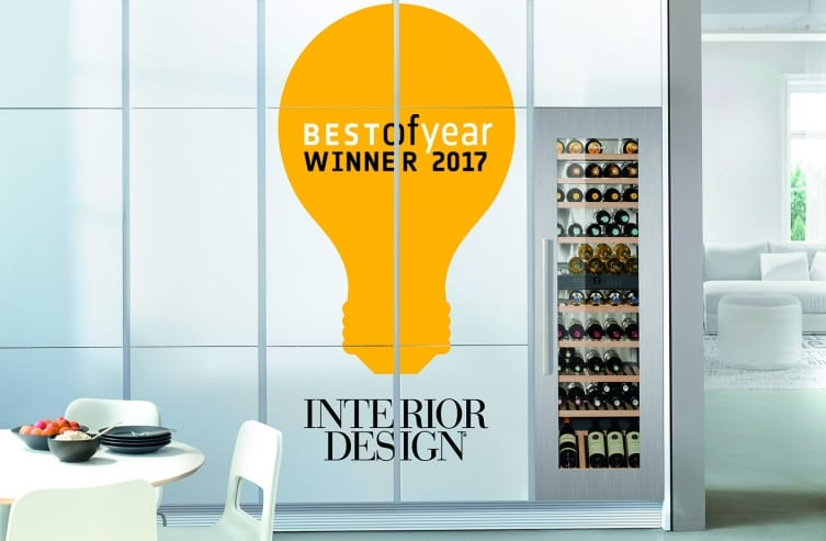 Liebherrs HW8000 Fully Integrated 24 Inch Wine Cabinet Received The Award For Its Sleek Aesthetic Customization Options And Sophisticated Features