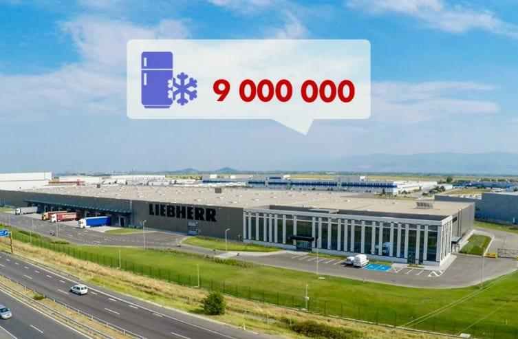 Либхер-Хаусгерете Марица произведе своя 9 милионен домакински уред!