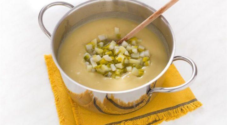 supa crema de praz cu cartofi 9