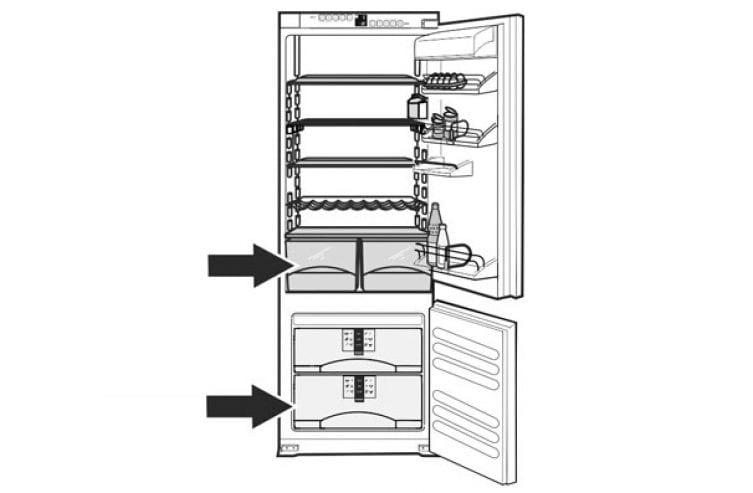 La plaque signal tique des appareils liebherr - Quelle temperature pour un congelateur ...