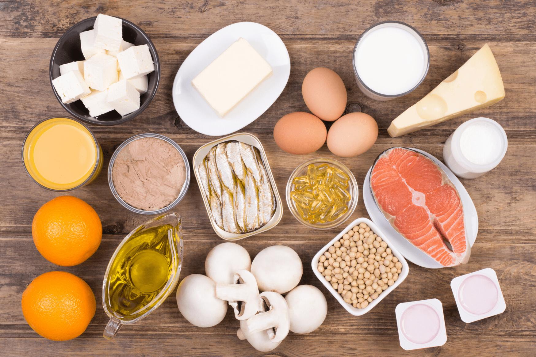 vitamine d, nutrition, cnseil, saumon, fromage, vitamine du soleil, alimentation saine, rayonnement uvb