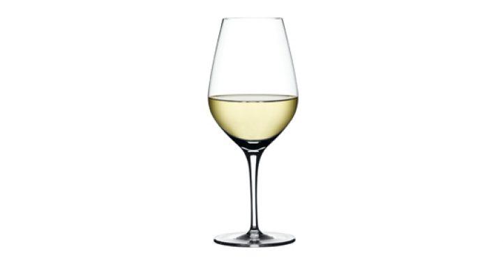 bicchiere vino bianco pregiato