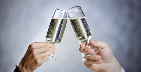 Champagner, Prosecco, Sekt, Wein, Perlwein, Schaumwein
