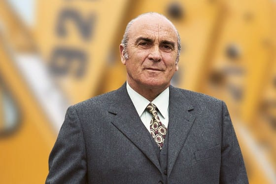 Firmengründer Hans Liebherr