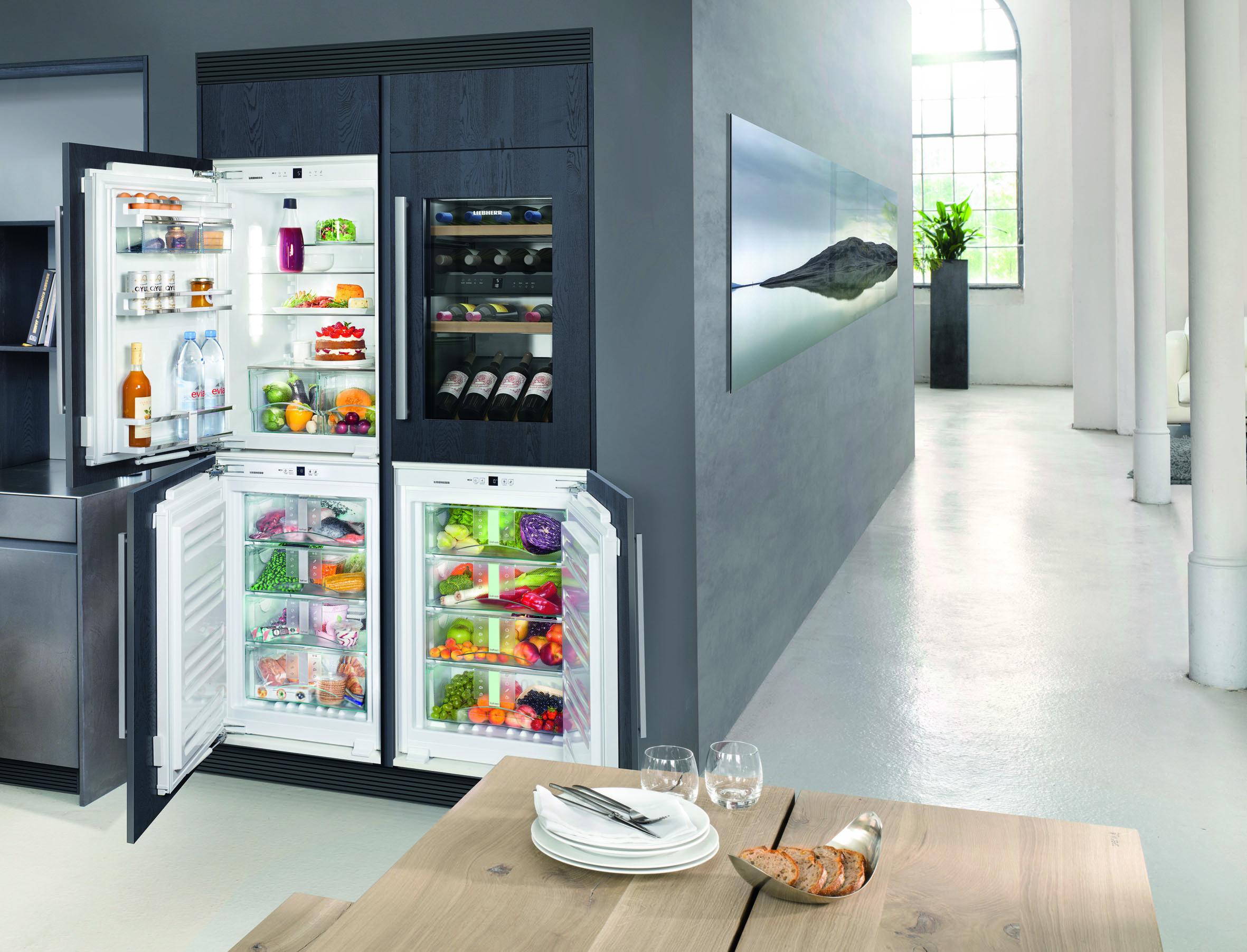 Side By Side Einbau Kühlschrank Liebherr : Liebherr frischecenter: kombinieren sie die welt der frische nach