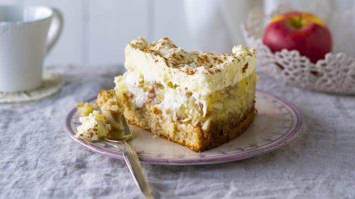 GuU - Kuchen - Apfelstrudeltorte, Ap felstrudel, Apfel, Torte, Sahne
