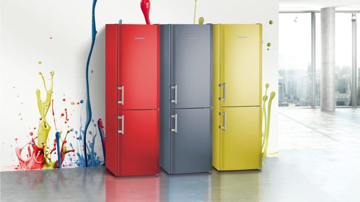 Die ColourLine Geräte von Liebherr sind ein echter Blickfang.