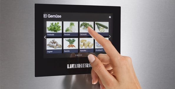 BluPerformance, Liebherr, BioFresh, Touch Display