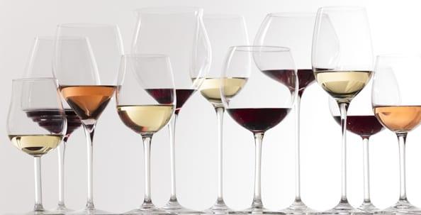 Wein, Essen, Genuss, Liebherr, Sommelier, Blog, Weingläser, Glas, Rotwein, Weißwein