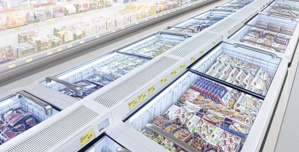 Liebherr, Supermarkttruhe, Gewerbe, Discounter, Supermarkt, Energieeffizienz, Sicherheit, Reinigung, Performance, Produktivität, Service, Innovation, Lebensmitteleinzelhandel, Lebensmittel, Einzelhandel