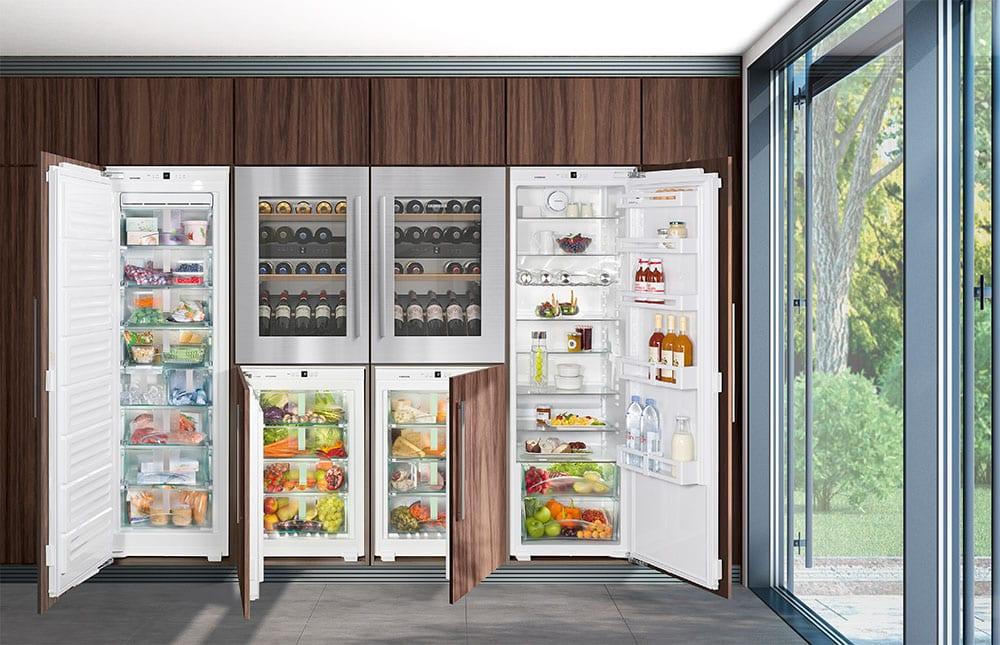 Side By Side Kühlschrank Einbaugerät : Einbaugeräte individualisieren