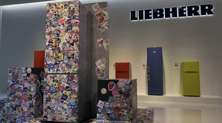 Liebherr IFA 2017 StickerArt