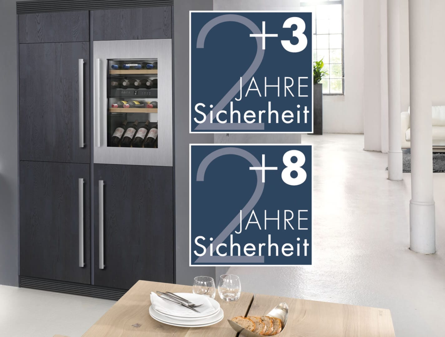 garantieplus mehr sicherheit f r ihre k hl und gefrierger te freshmag liebherr. Black Bedroom Furniture Sets. Home Design Ideas