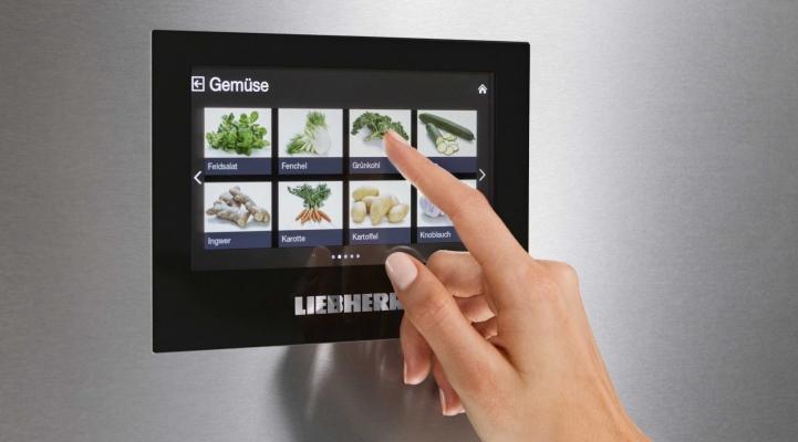 Display, Standgerät, Kühl-Gefrier-Kombination, Kühlschrank