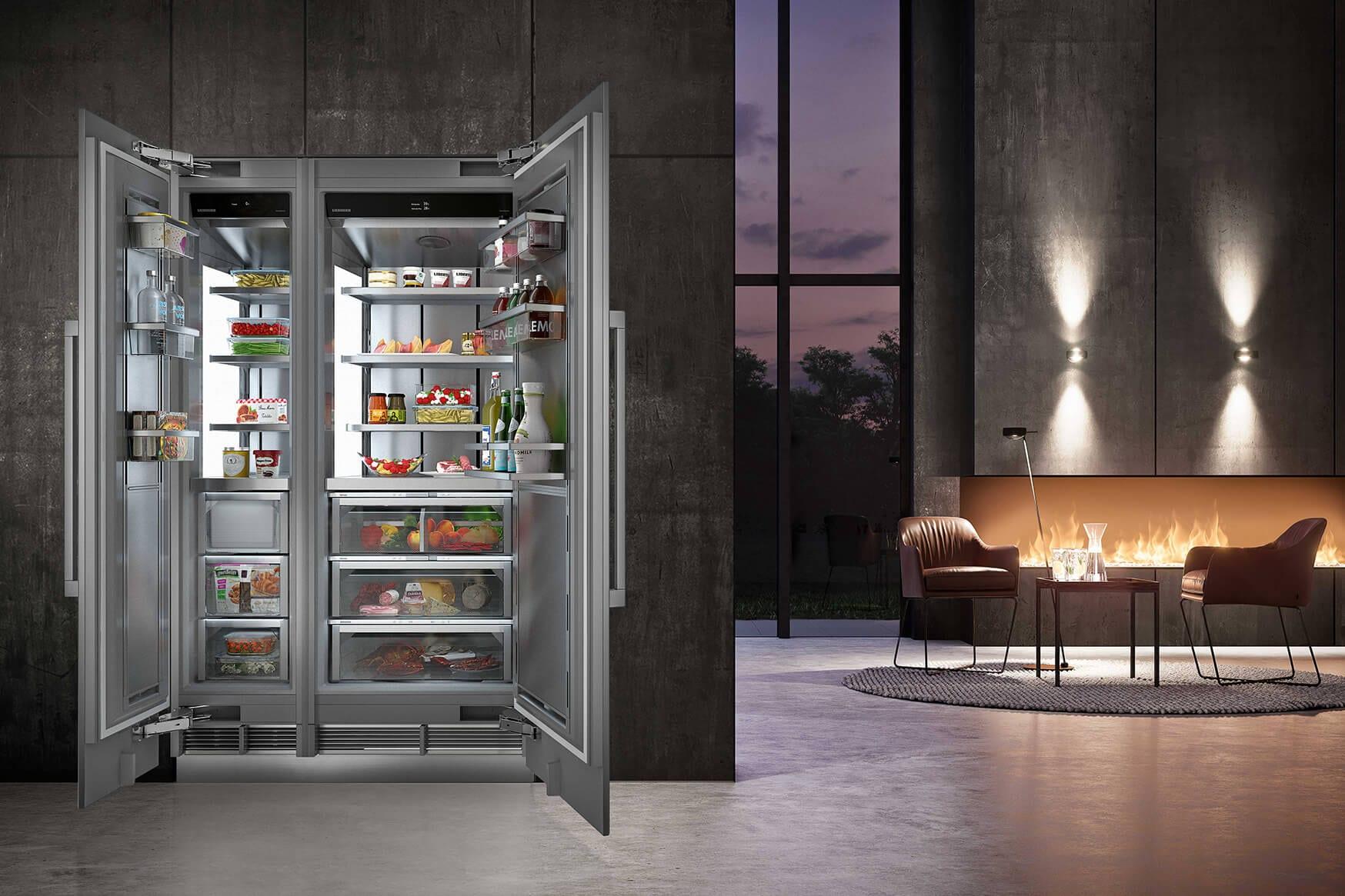 Side By Side Kühlschrank Platzbedarf : Ifa 2018: das sehen sie bei liebherr hausgeräte freshmag liebherr