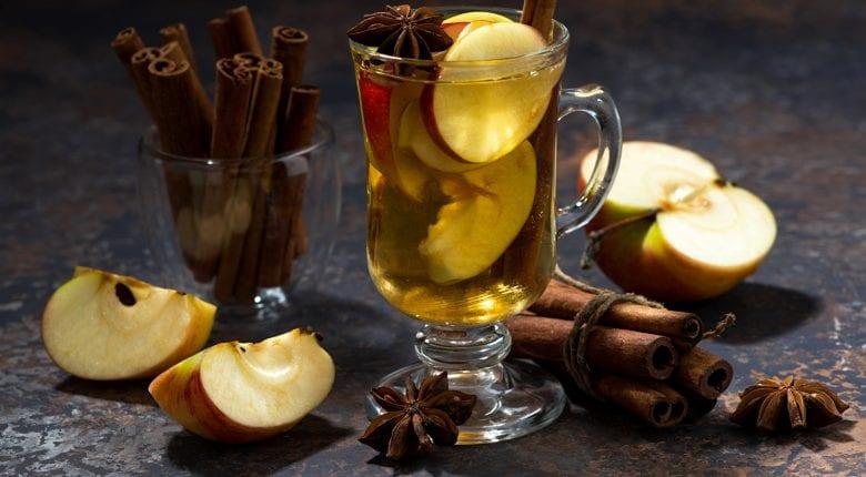 Apfeltee Schiefer