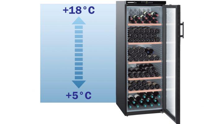 Мультитемпературна винна шафа Liebherr WTb 4212