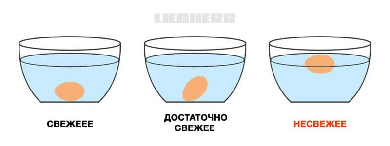 Простой способ как проверить свежесть яиц