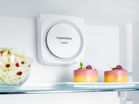 Технология PowerCooling в холодильниках Liebherr - динамическое охлаждение