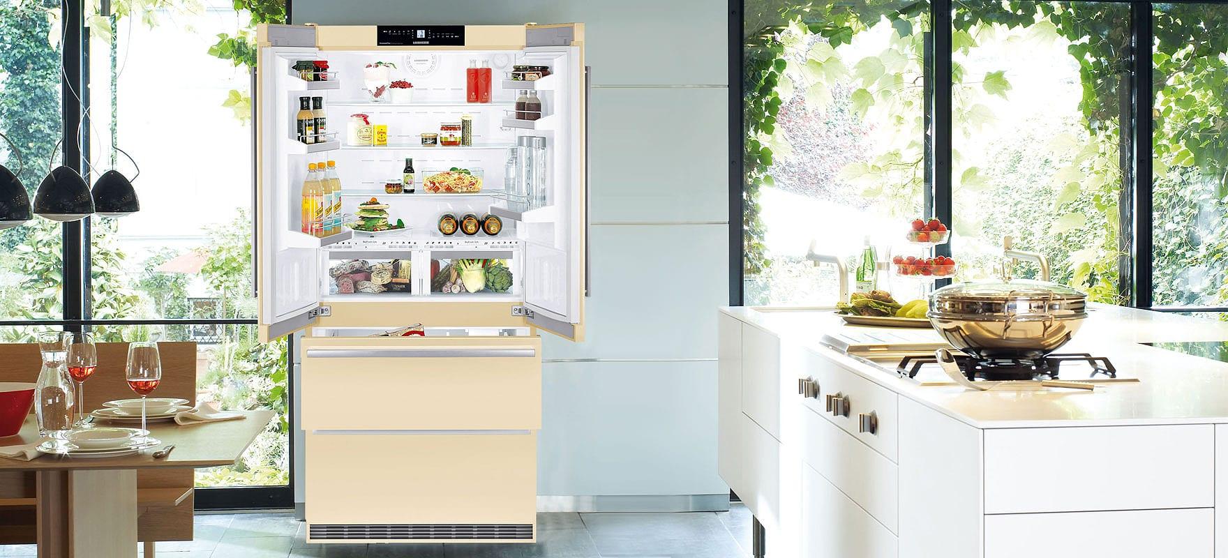 Liebherr Cbnbe 6256 холодильник с французской дверью