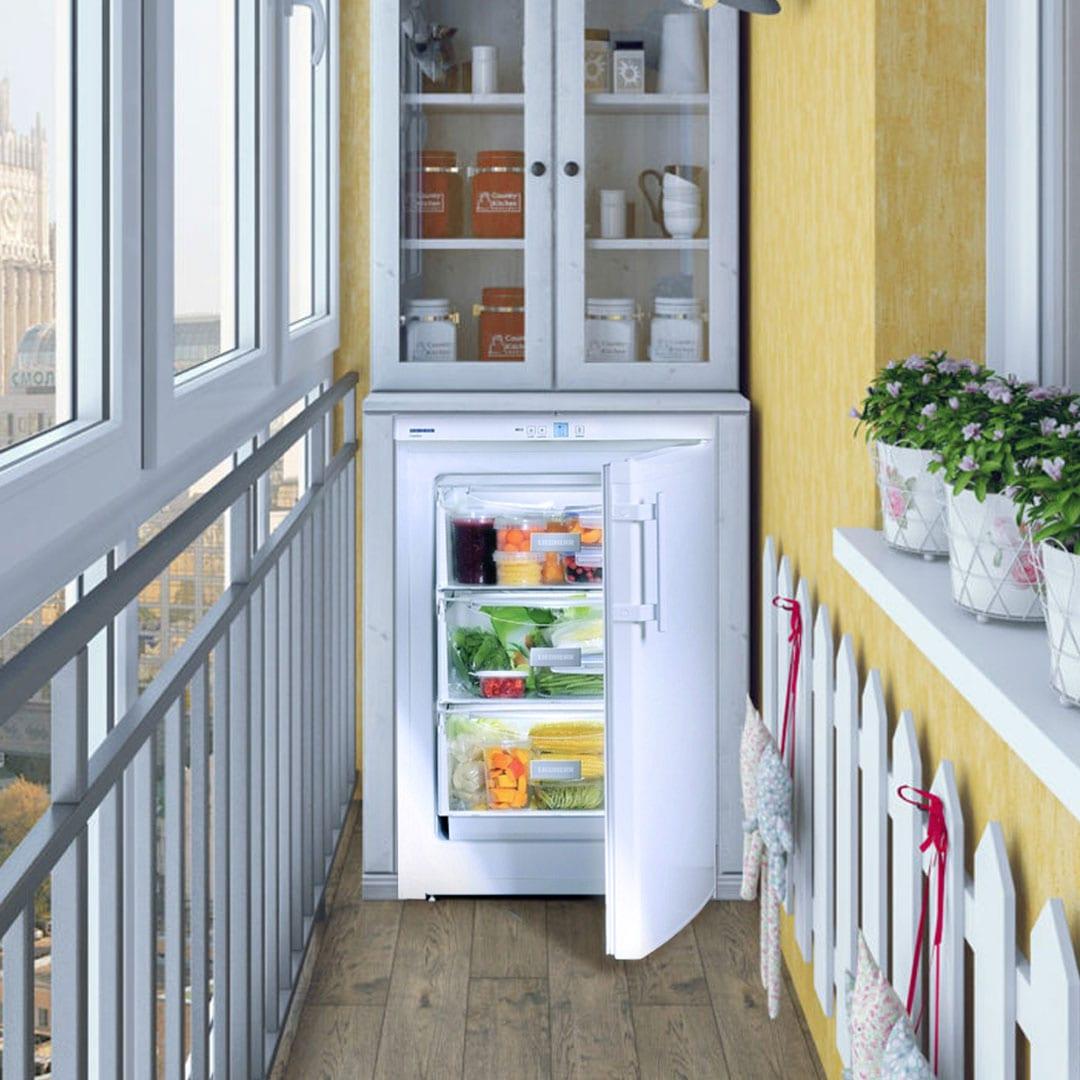 Морозильная камера для неотапливаемого помещения LIEBHERR GP 1213