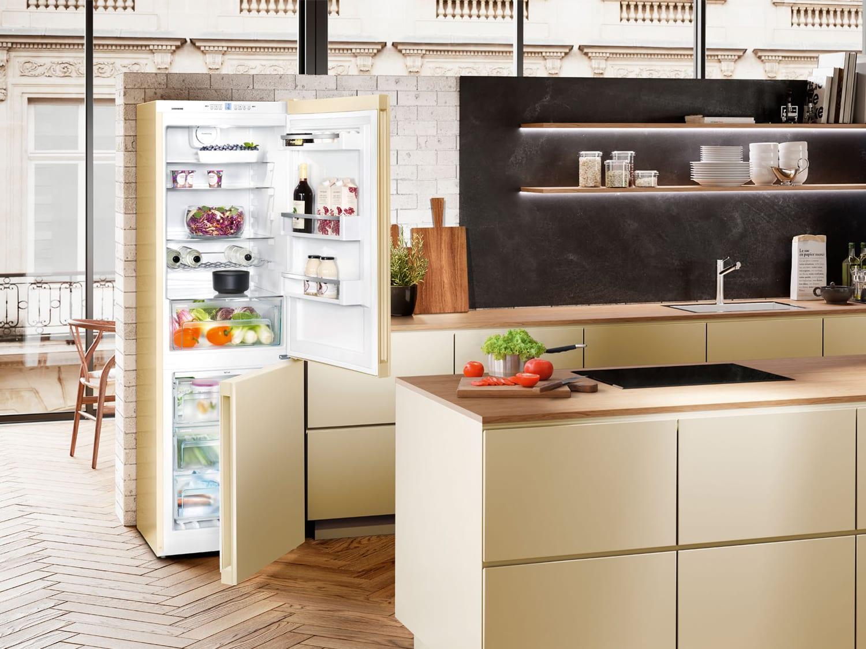 Rishikimi i frigoriferit ngjyrë bezhë CNbe 4313