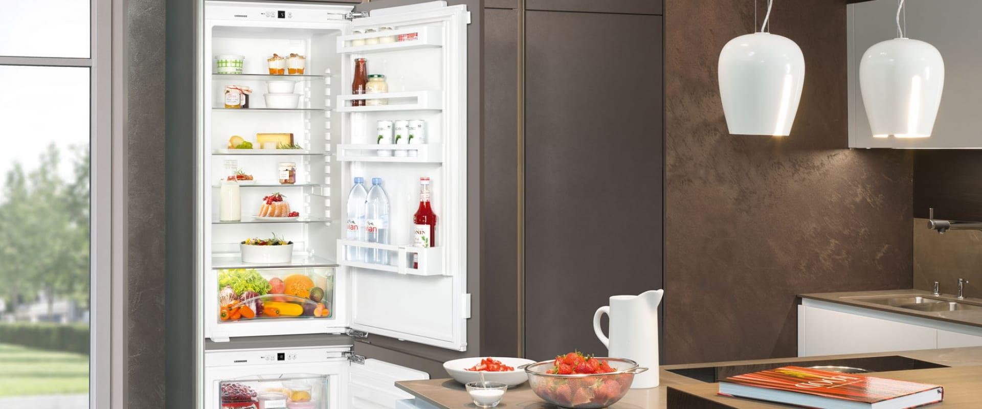 Обзор высокого встраиваемого холодильника LIEBHERR SBS 33i2