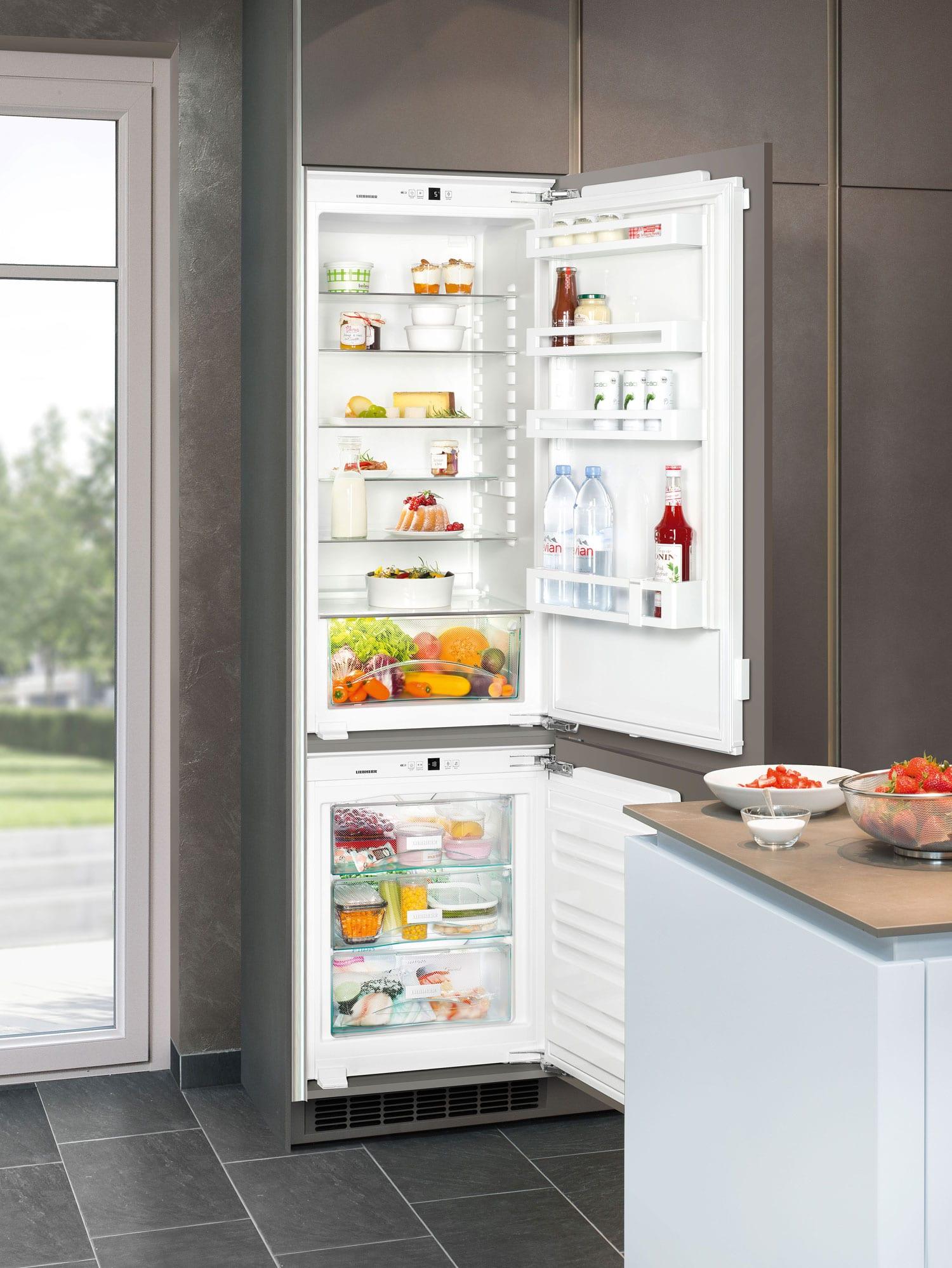 Новое поколение встраиваемых холодильников LIEBHERR