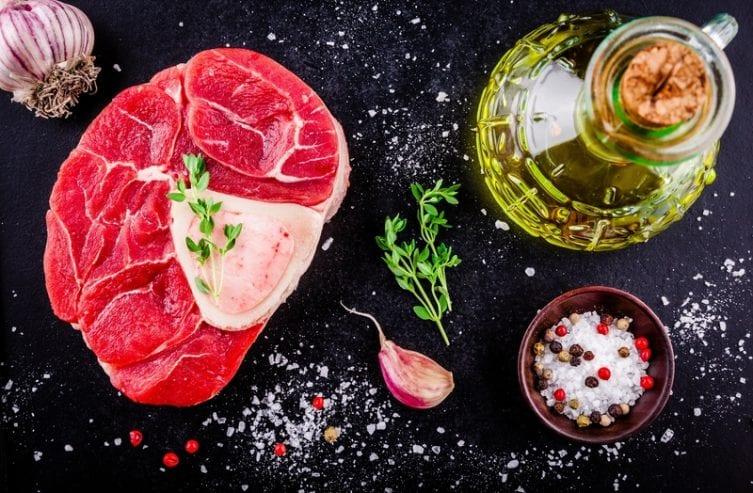 vlees bewaren schenkel