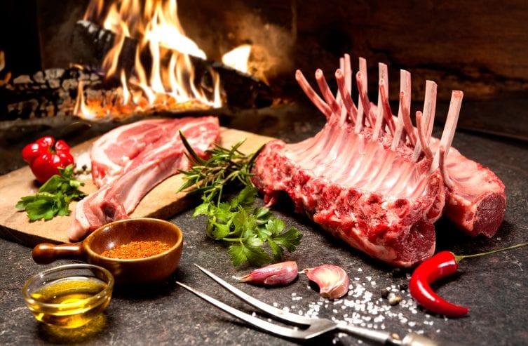 vlees bewaren lamsrack