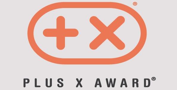Plus X auhind